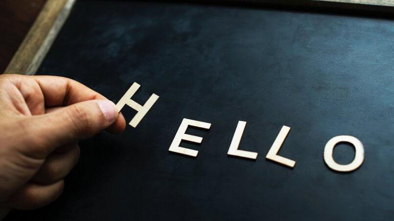 приветствие по английски