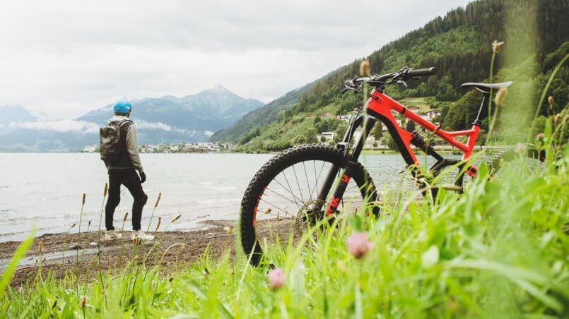 отдых на горном велосипеде диалог