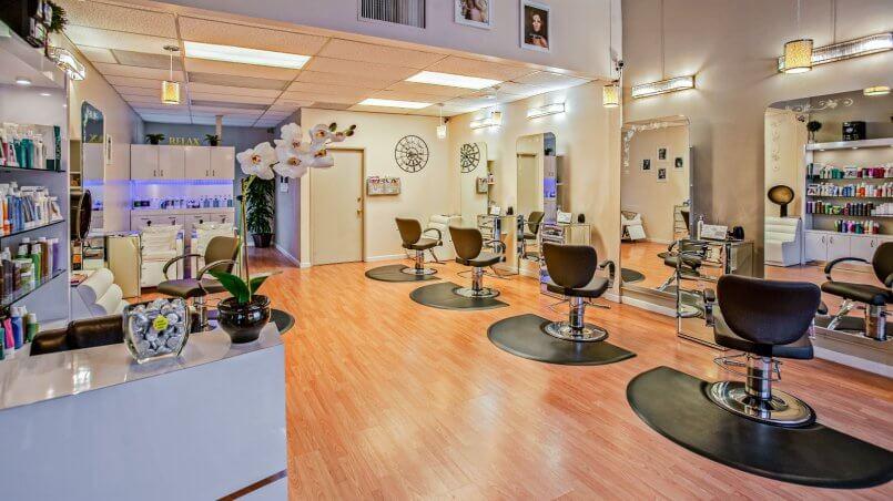 услуги парикмахерской диалог