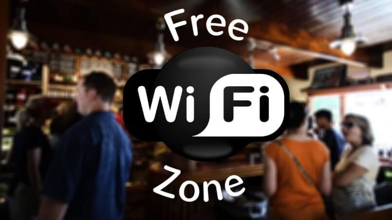 Зона WiFi в отеле диалог