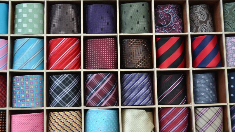 покупка галстука диалог